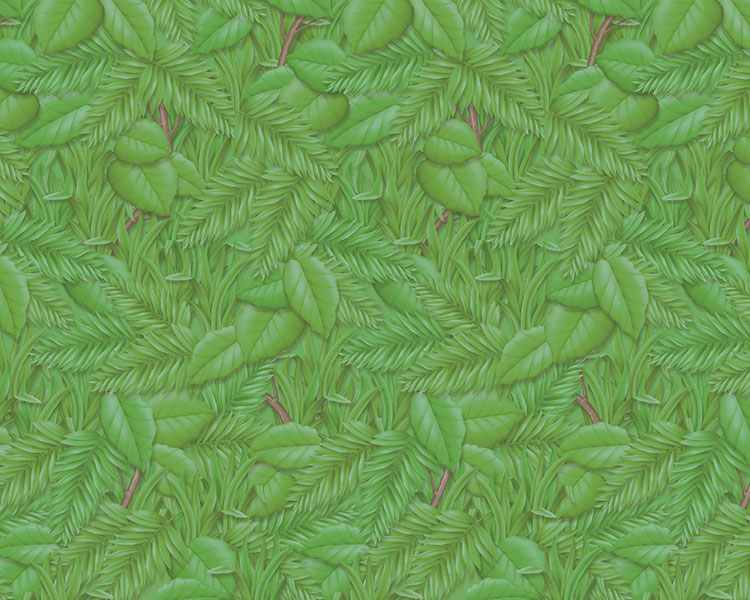 PAPEL MANILA DISENO 16YDS TROPICAL FOLIAGE