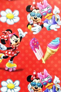 PAPEL REGALO DISNEY 25PCS MINNIE SALON