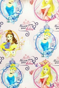 PAPEL REGALO DISNEY 25PCS ALL PRINCESS