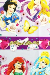 PAPEL REGALO DISNEY 25PCS PRINCESS PRETTY