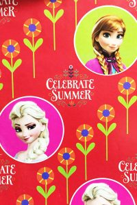 PAPEL REGALO DISNEY 25PCS FROZEN MAGIA ESPECIAL