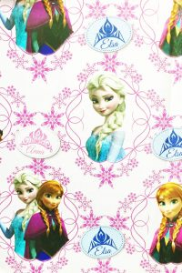 PAPEL REGALO DISNEY 25PCS FROZEN ILUSION