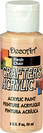 DecoArt Acrylic Paint Flesh DOCENA