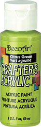 DecoArt Acrylic Paint Citrus Green DOCENA