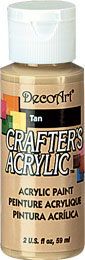DecoArt Acrylic Paint Tan DOCENA