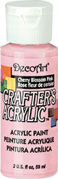 DecoArt Acrylic Paint Cherry Blossom Pink DOCENA