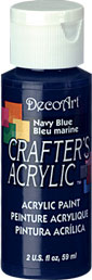 DecoArt Acrylic Paint Navy Blue DOCENA