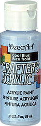 DecoArt Acrylic Paint Cool Blue DOCENA
