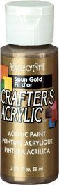 DecoArt Acrylic Paint Spun Gold DOCENA