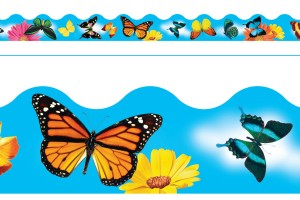 Borde de Diseno BUTTERFLIES