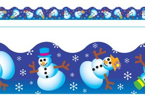 Borde de Diseno WINTER FUN