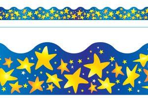 Borde de Diseno STAR BRIGHTS