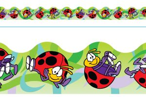 Borde de Diseno LADYBUGS