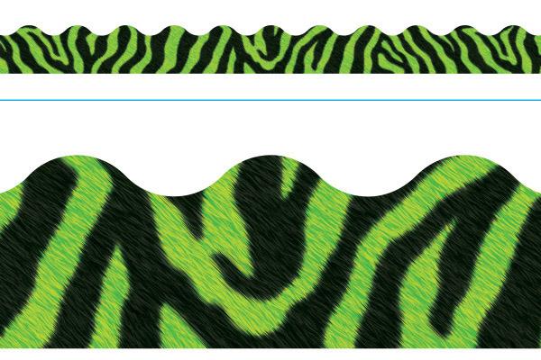 Borde de Diseno ZEBRA GREEN