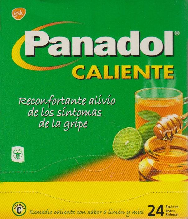 PANADOL CALIENTE CAJETA 24 SOBRES