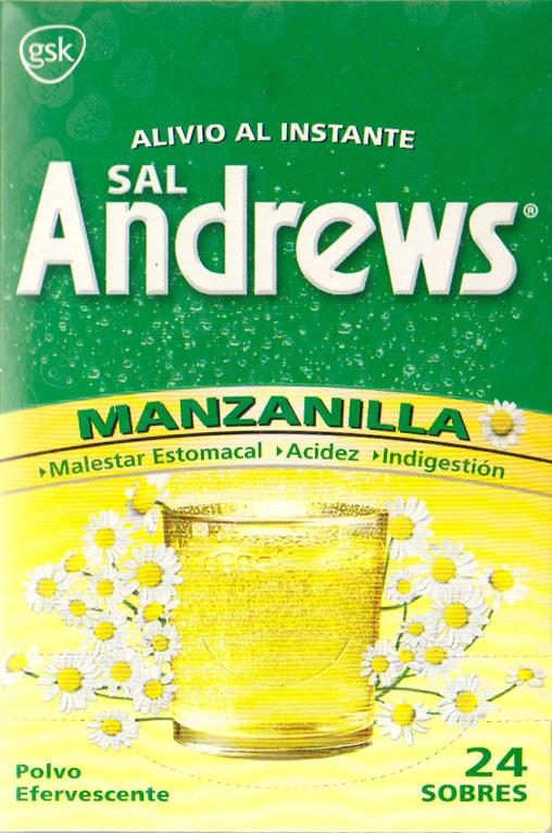 SAL ANDRES MANZANILLA CAJETA 50 SOBRES