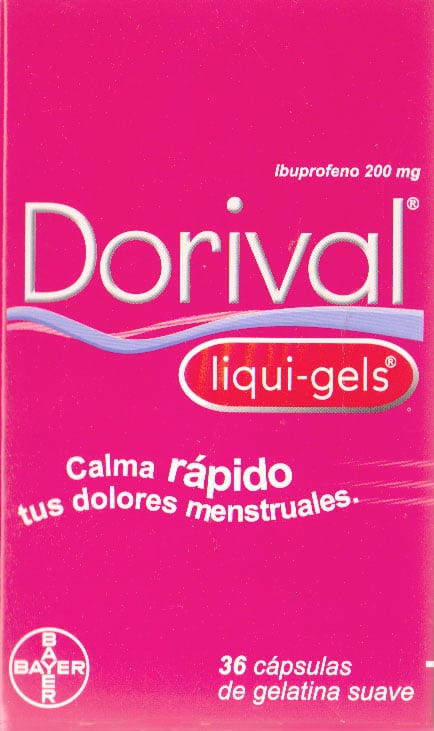 DORIVAL LIQUI-GELS CAJETA 36 PASTILLAS