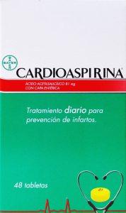 CARDIOASPIRINA CAJETA 48 TABLETAS
