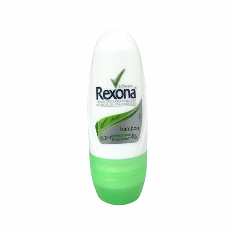 REXONA ROLL ON BAMBOO 30ML  6PCS