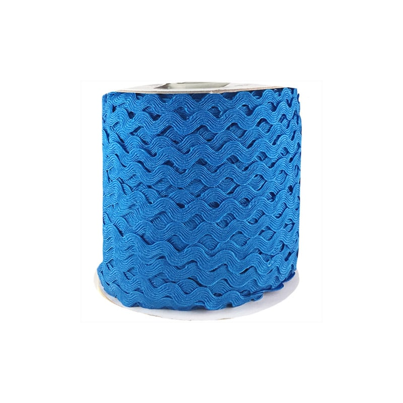 Zig zag color liso 5mm 100mts AZUL CLARO