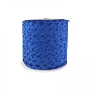 Zig zag color liso 5mm 100mts AZUL ROYAL
