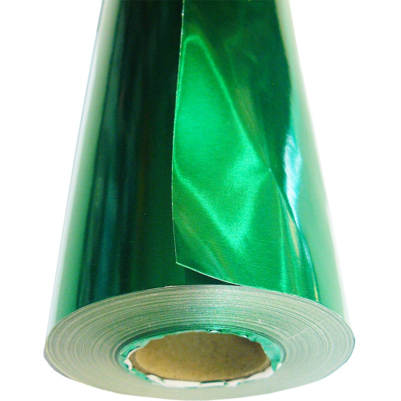 PAPEL METALICO LARGO 80GSM 88CMX50MTS VERDE