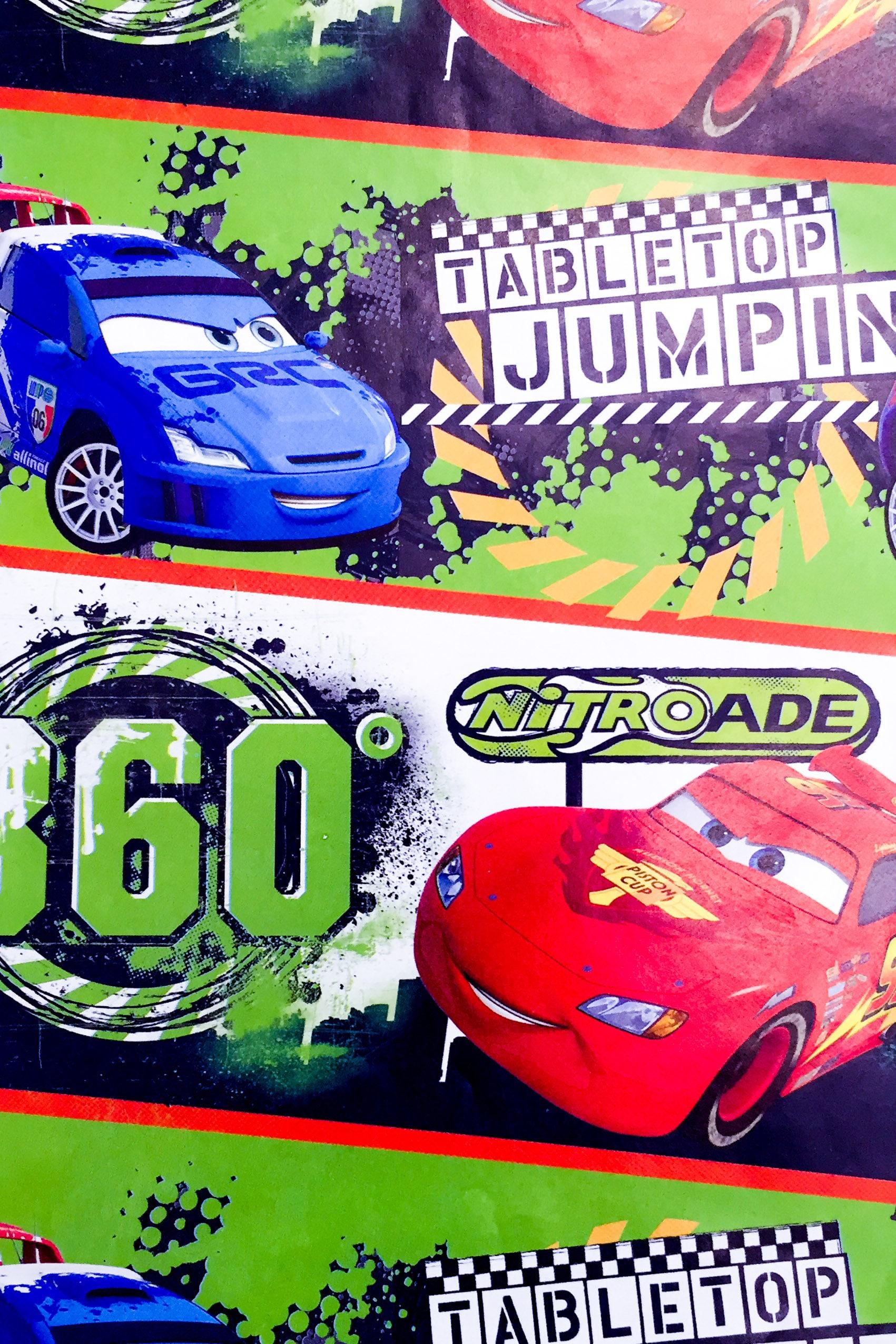 PAPEL REGALO DISNEY 25PCS CARS CARRERA XTREMA