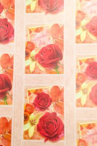 PAPEL REGALO DISNEY 25PCS FLORES
