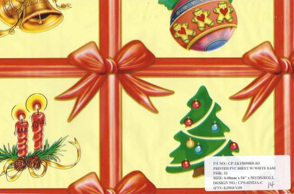 Carpetas de Navidad 50yds #14