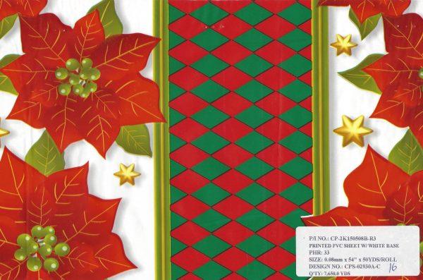 Carpetas de Navidad 50yds #16