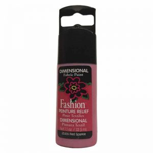 PLAID PINTURA DIMENSIONAL SPARKLE RED 32.5ml DOC