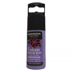 PLAID PINTURA DIMENSIONAL SPARKLE VIOLET 32.5ml DOC